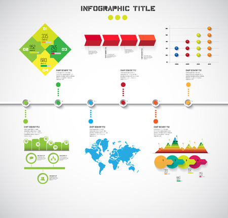 Timeline Infographic. vector