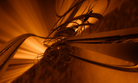 abound: 3d abstract background