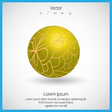 3D Spherical Element Vector