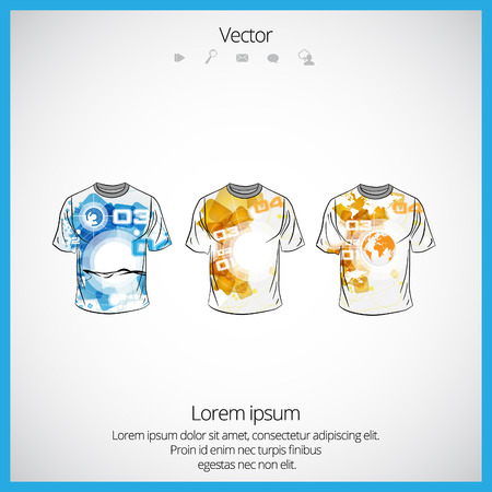 tshirt template: T-shirt template