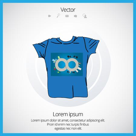 raglan: Mans t-shirt design
