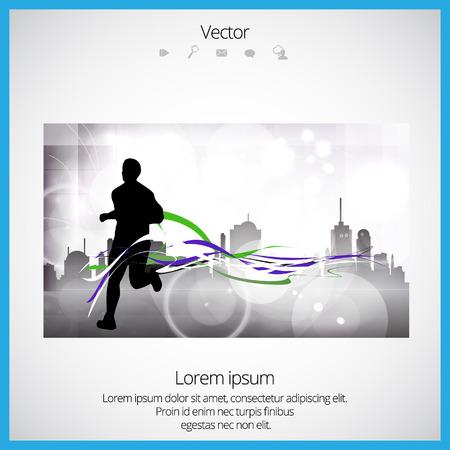 Sport vector illustration Illustration