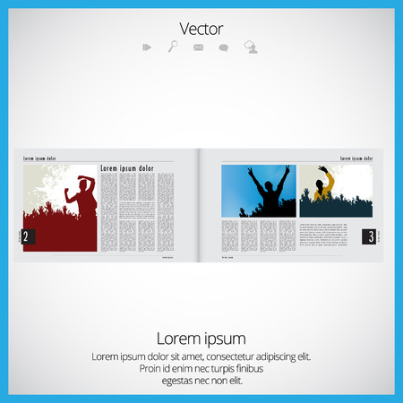 whitern: Layout of magazine