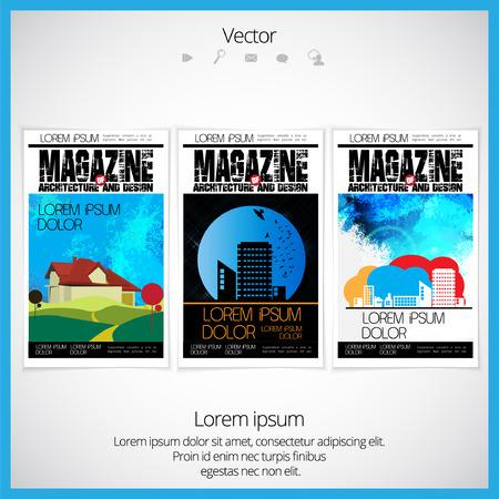 brochure cover design: Brochure cover design Illustration