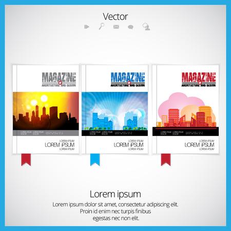Broschüre Cover Visitenkarte Architektur Baugewerbe