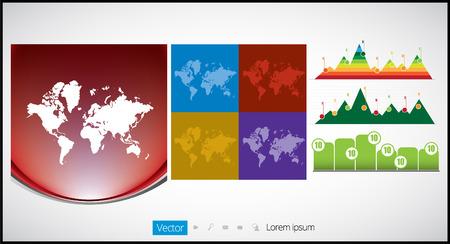 Vector infographic elements Vector