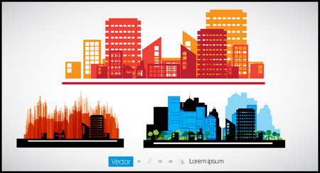 City Landscape, vector