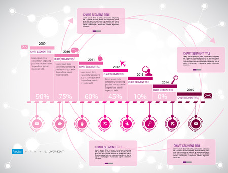 timeline: Timeline Infographic, Vector design template