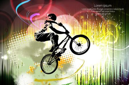 freeride: Freestyle masculino joven jinete