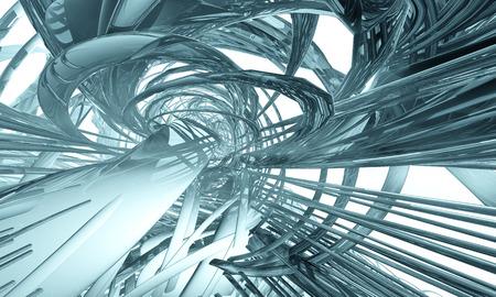 matrix: 3D futuristic matrix background