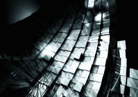 cryptic: 3D futuristic background