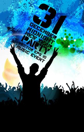 nightlife: Music event background