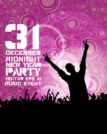 girl party: Music event background