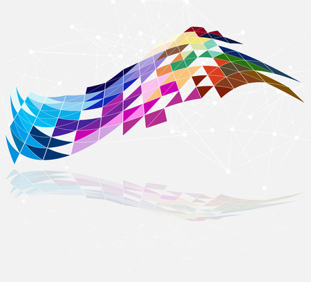 designed: Designed abstract background