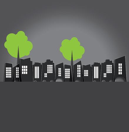 city live: Urban landscape Stock Photo