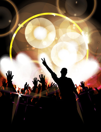 party: big party Stock Photo