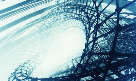 estructura: 3D futurista fondo Foto de archivo