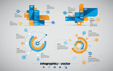 üzlet: Business Infographics