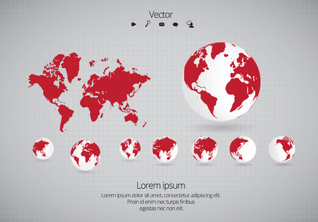 108 vector time zones map stock illustrations cliparts and royalty world map vector gumiabroncs Images