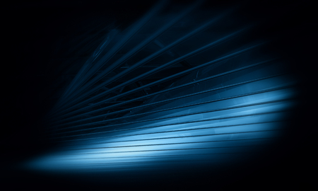 virtualization: 3D abstract background design