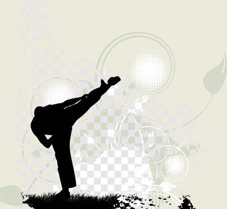 karate boy: Karate Training