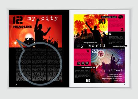 publisher: Magazine layout design