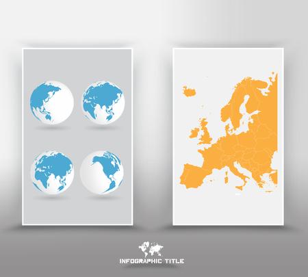 world communication: world map