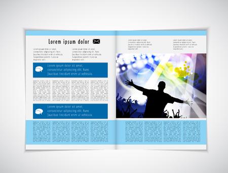 layout: Magazine layout