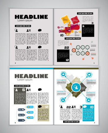 magazine layout: Magazine layout