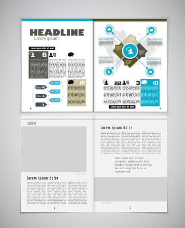 magazine layout: Magazine layout