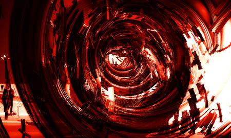 futurist: 3d futuristic abstract background