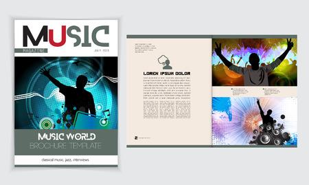 discoteque: Magazine layout