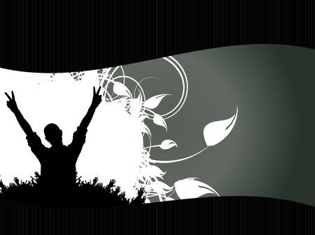 Music background ready for poster or banner