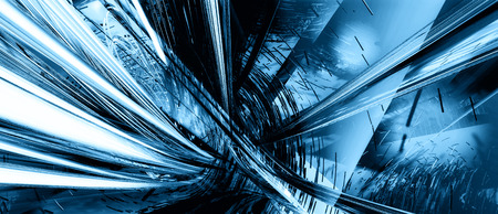 teleportation: 3d abstract explosion background