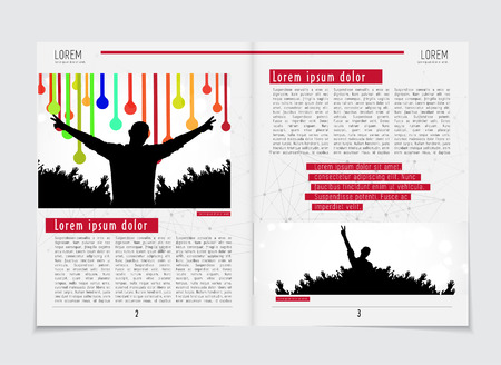 Design Template Newspaper Royalty Free Cliparts Vectors And Stock