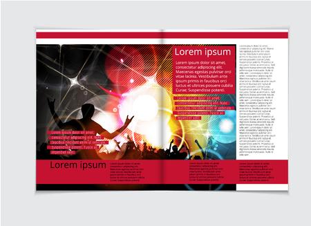 Design template krant