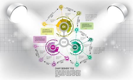Vector of illustration infographic Illustration