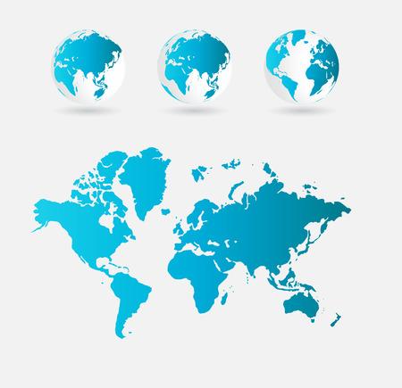 european community: world map