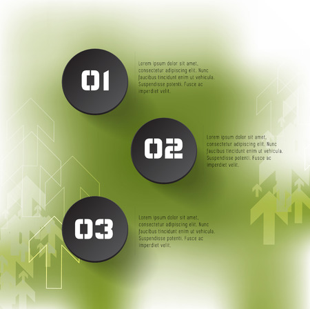 chronological: Vector illustration of infographics