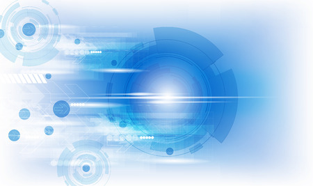 technology: Abstract technology design Stock Photo