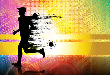 medical heart: Sport vector illustration Illustration