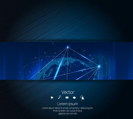 technology: Network technology background