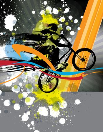 mtb: BMX biker