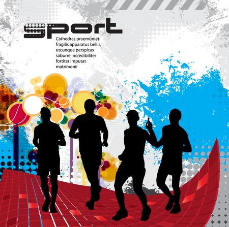 marathon runner: marathon runner