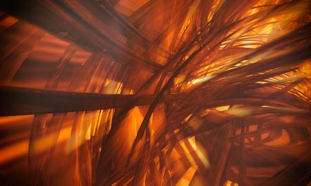 cyberpunk: 3D rendering, abstract background design
