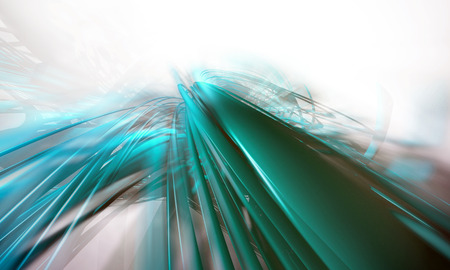 torrent: 3D rendering, abstract background design