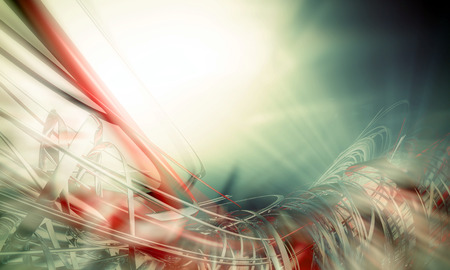 impetuous: 3D rendering, abstract background design