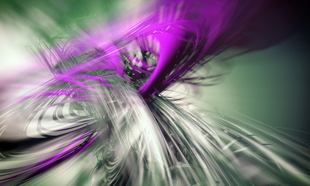 3D rendering, abstract background design