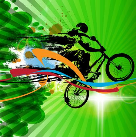 extreme sports: Extreme sports, BMX rider