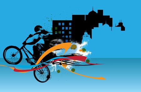 extreme: Extreme sports, BMX rider